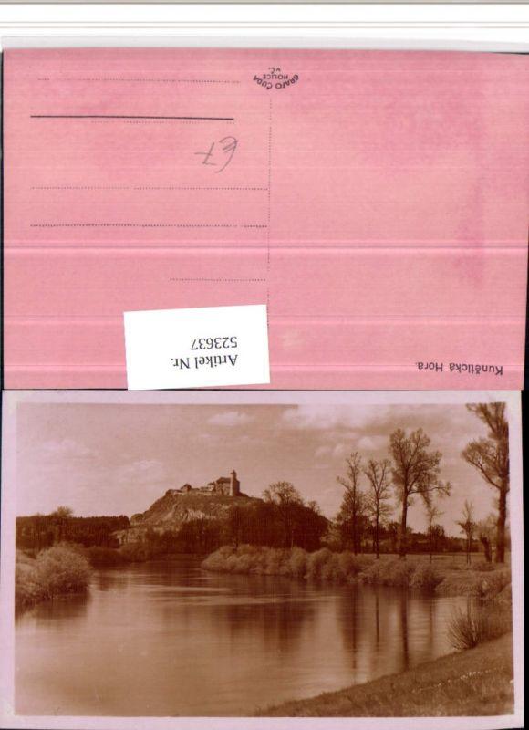 523637,Kuneticka Hora Burg b. Stare Hradiste