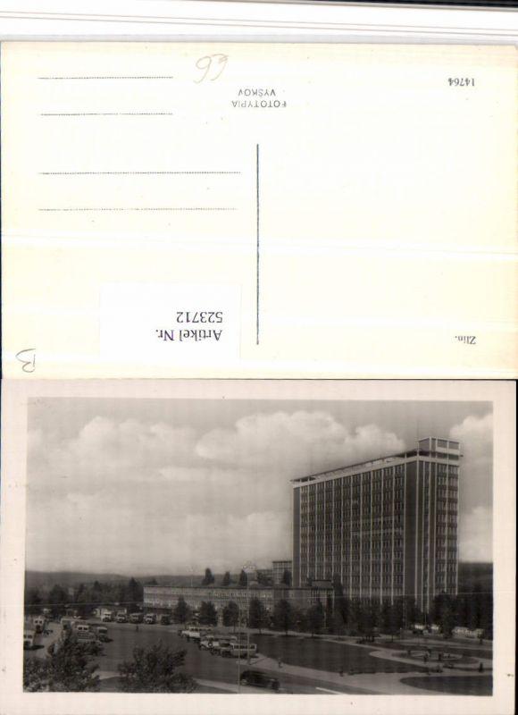 523712,Zlin Gebäude Autos