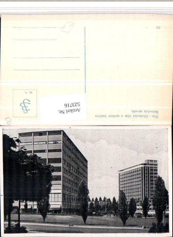 523716,Zlin Obchodni dum a spravni budova Batovych zavodu Gebäude