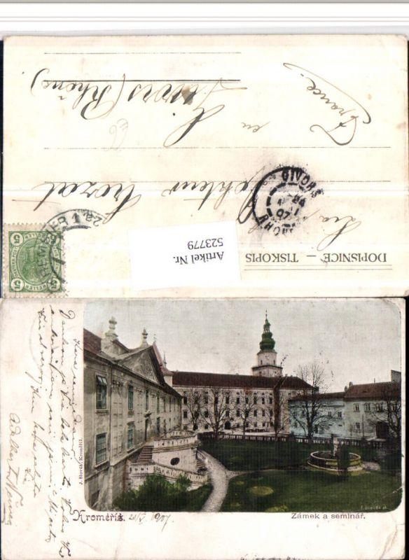 523779,Kromeriz Kremsier Zamek a seminar Schloss