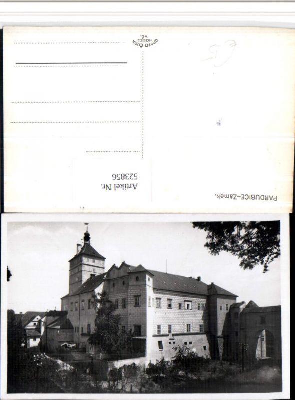 523856,Pardubice Pardubitz Zamek Schloss