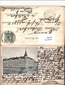 523861,Gruß aus Olmütz Olomouc Wittnersche Häuser Bahnhofstraße
