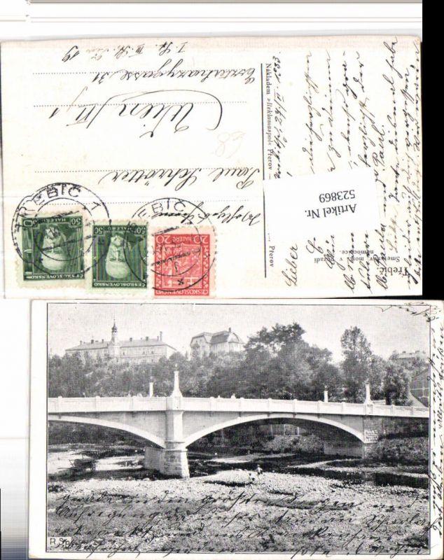 523869,Trebic Trebitsch Smetanuv most Brücke