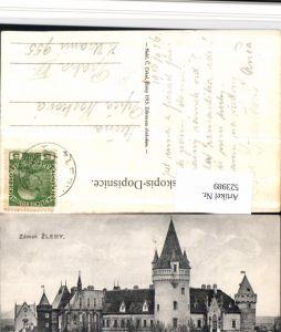 523989,Zamek Zleby b. Kunta Hora Schloss