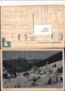 524051,Spindlermühle Spindleruv Mlyn Teilansicht Winterbild