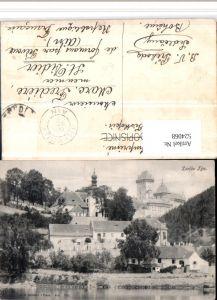 524068,Karluv Tyn Karlstejn Teilansicht m. Burg