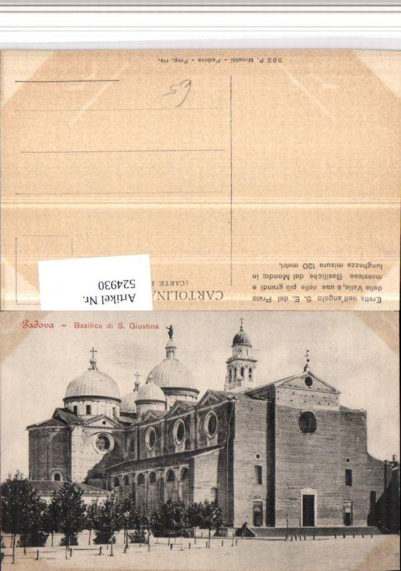 524930,Veneto Padova Padua Basilica S. Giustina Kirche