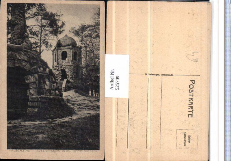 525709,Halberstadt im Harz Spiegelsbergen Turm Aussichtsturm