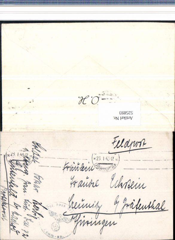 525893,WK 2 Feldpost Inf. Ausb. Bat. 72 Gutenfeld Nachod n. Creunitz Gräfenthal