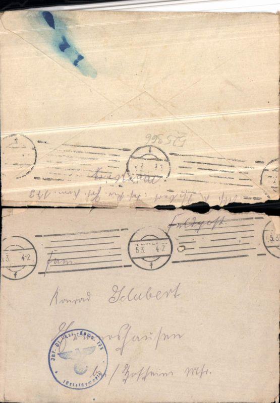 525966,WK 2 Feldpost Inf. Pionier Ers. Kp. 173 n. Ermershausen Hofheim