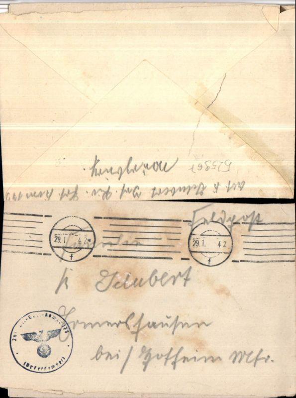 525967,WK 2 Feldpost Inf. Pionier Ers. Kp. 173 n. Ermershausen Hofheim