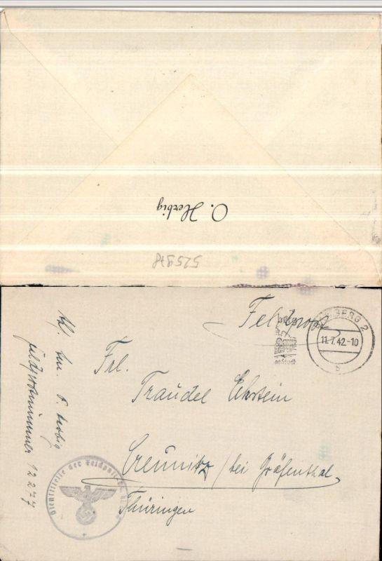 Feldpost 12277 RAD-Abteilung 1/284 Reichsarbeitsdienst Ettleben n. Creunitz