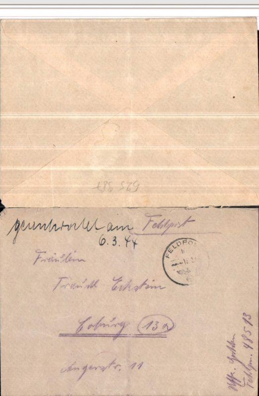 525987,WK 2 Feldpost 48513 Fahrkolonne Inf. Div. Nachs. Tr. 346 n. Coburg
