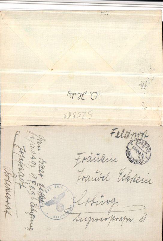 525989,WK 2 Feldpost Inf. Ausb. Batl. 97 Josefov Josefstadt Coburg