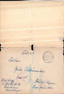 526003,WK 2 Feldpost Flak Ers. Ausb. Abt. 25 Schönbrunn n. Coburg