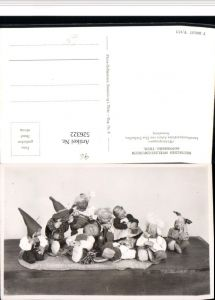 526322,Puppen Spielzeug Spielzeugmuseum Sonneberg Wichtelgruppe