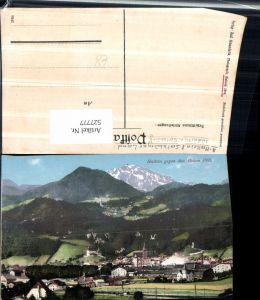 527777,tolle AK Hallein gegen Hohen Göll 1910