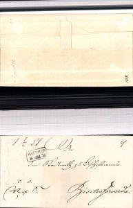 530058,Vorphila Brief 1835 Bautzen n. Bischofswerda Handstempel Stempel