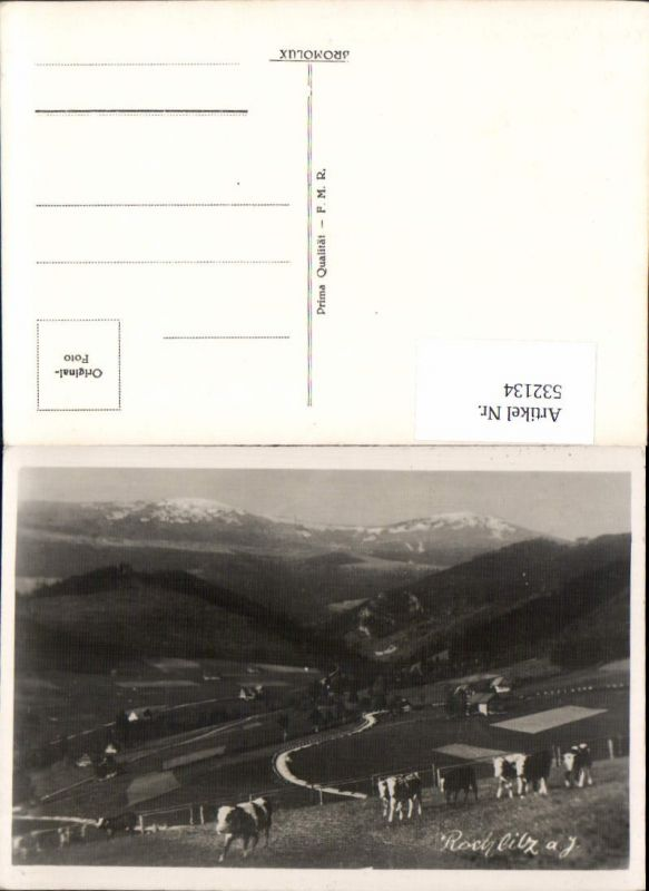 532134,seltene Foto-AK Rochlitz Rokytnice nad Jizerou Semily Riesengebirge