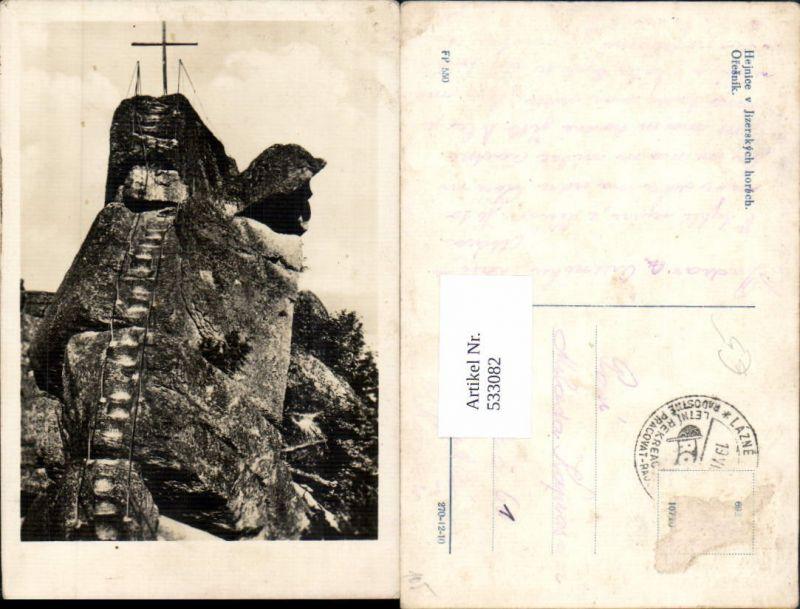 533082,Haindorf im Isergebirge Hejnice Oresnik Liberec Gipfelkreuz