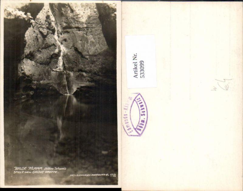 533099,Wilde Klamm Stille Grüne Grotte Bodenbach Decin Aussig