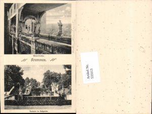 533113,tolle AK Krummau Krumau Schlosspartie Südböhmen