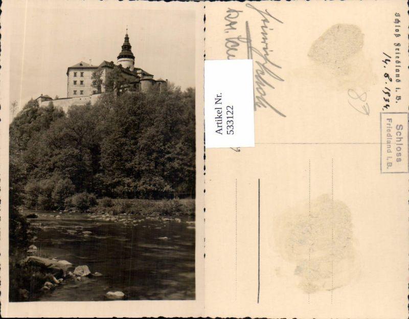 533122,Foto-AK Friedland in Böhmen Frydlant sv Cernach Liberec