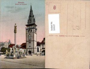 533127,Komotau Kirche Denkmal Chomutov