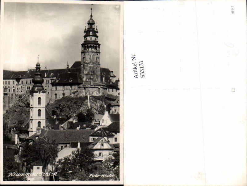 533131,Foto-AK Krummau Krumau a.d. Moldau pub Micho