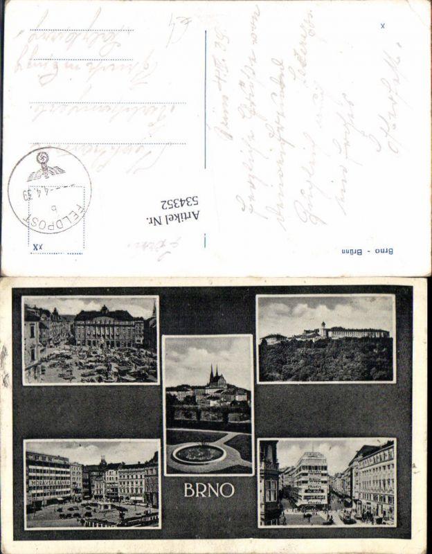 534352,Brno Brünn Feldpost