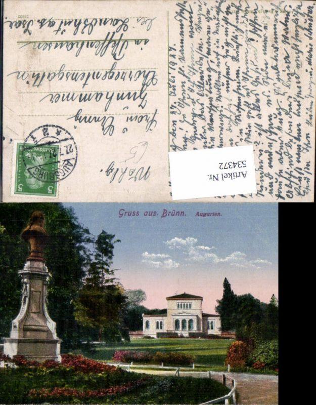 534372,Gruss aus Brünn Brno Augarten
