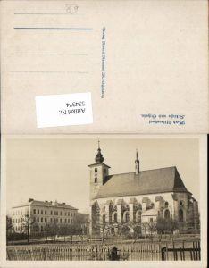 534374,Bad Ullersdorf Kirche Schule Velke Losiny Sumperk Olmütz Olomouc