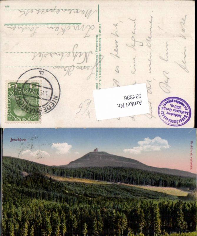 534386,Jeschken bei Liberec Reichenberg