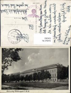 534393,Leitmeritz Litomerice Sudetengau Sudeten Kaserne Infanterie Reg. 52