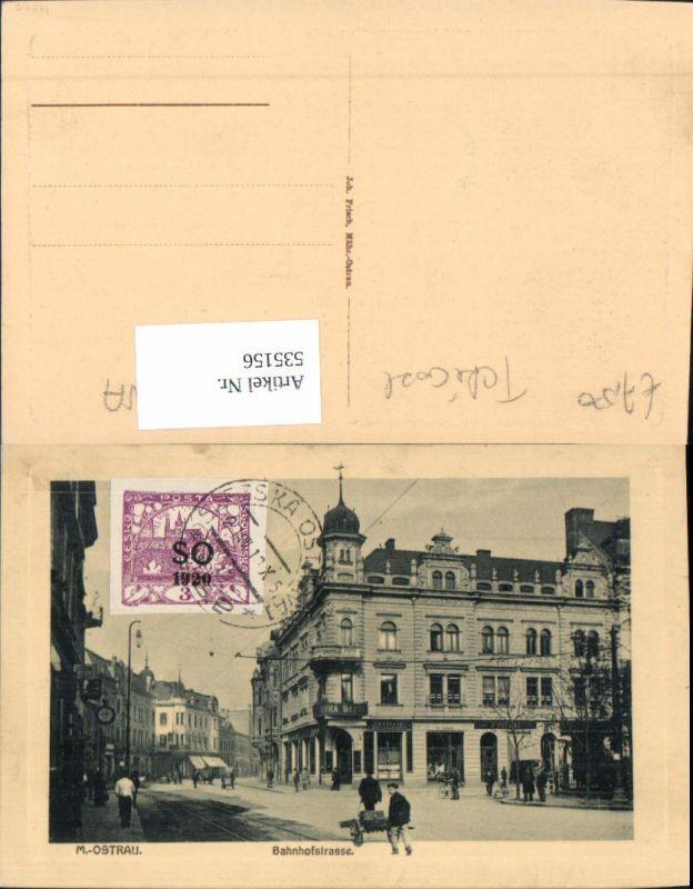 535156,Mährisch Ostrau Ostrava Bahnhofstrasse Bank Banc