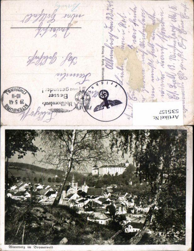 535157,Winterberg im Böhmerwald feldpost