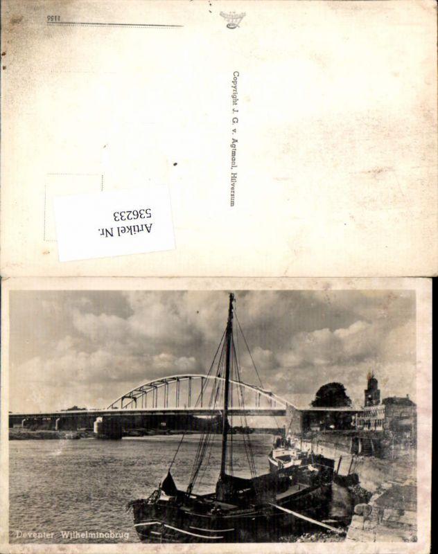 536233,Netherlands Deventer Brücke