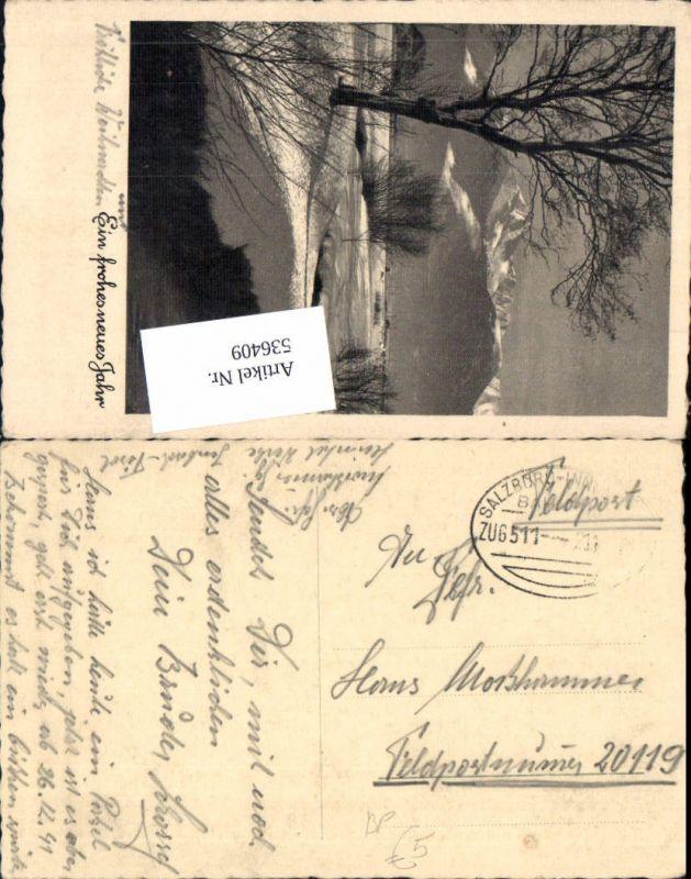 536409,Bahnpost Zug 511 21.12.1941 Feldpost Salzburg Innsbruck FP 20119