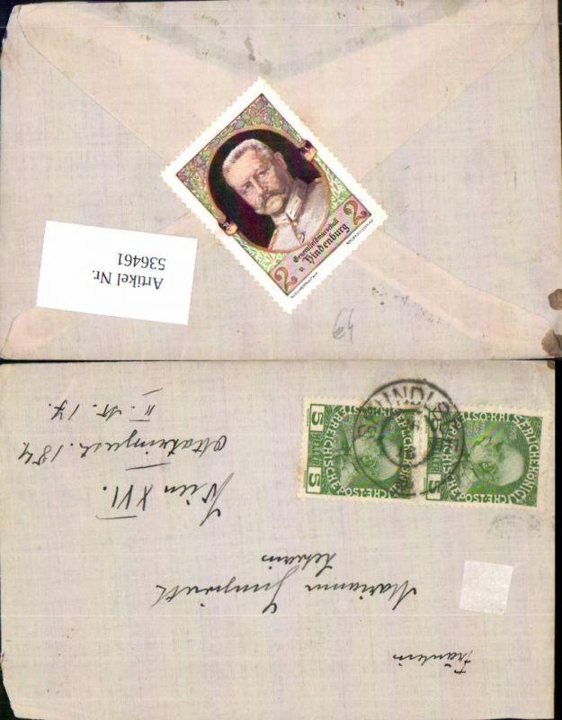 536461,Stempel Brief Grundlsee n. Wien Ottakring 1916