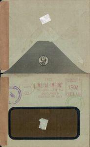 536791,Brief Zensur 1949 Bukarest Bulgarien Bucuresti