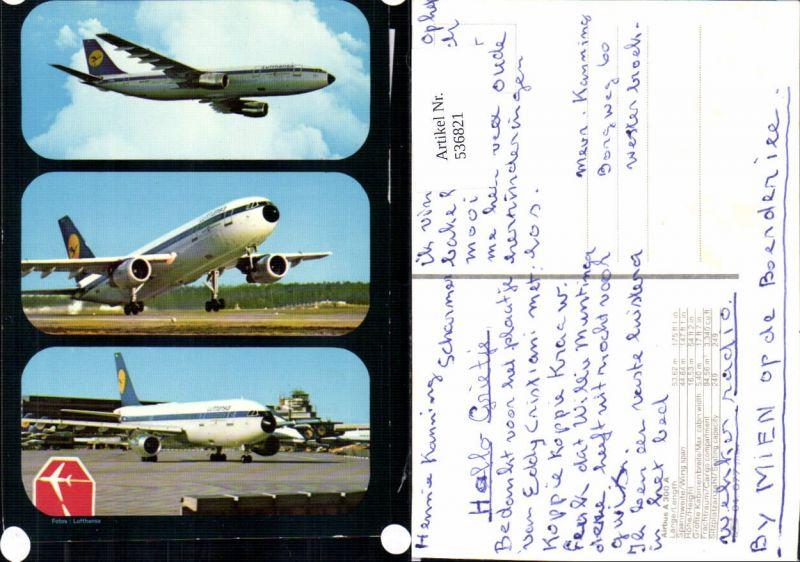 536821,Aviaktik Flugzeug Airbus A 300 A Lufthansa