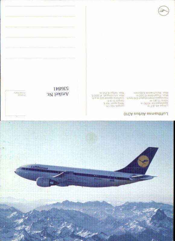 536841,Aviaktik Flugzeug Lufthansa Airbus A310