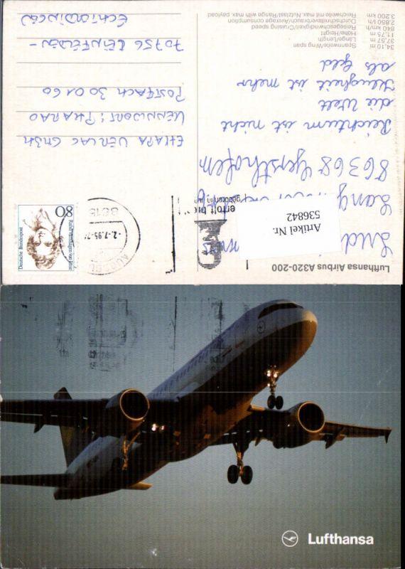 536842,Aviaktik Flugzeug Lufthansa Airbus A320-200