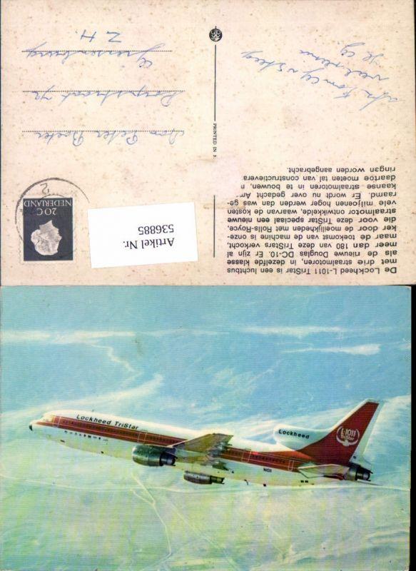 536885,Aviaktik Flugzeug Lockheed L 1011 Tristar