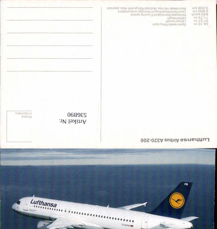 536890,Aviaktik Flugzeug Lufthansa Airbus A320-200