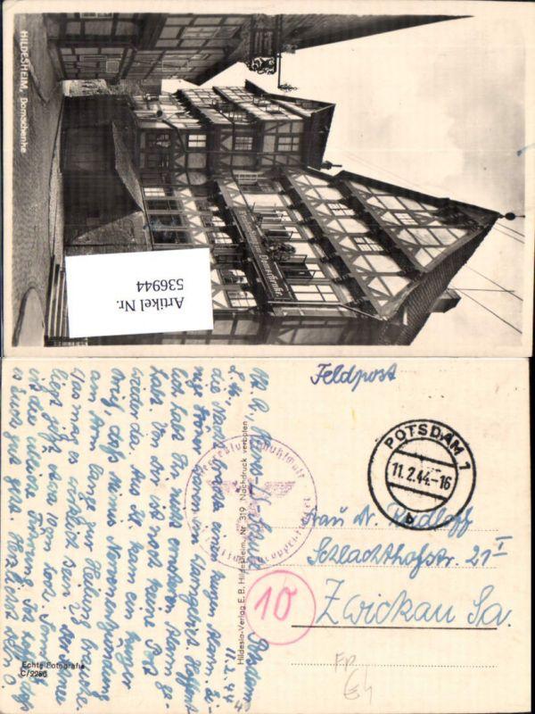 536944,Feldpost WW2 Heeresluftschutzschule Potsdam n. Zwickau