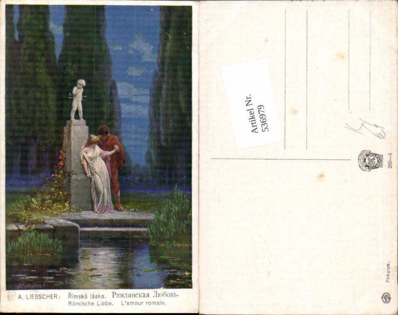 536979,Künstler AK Adolf Liebscher Römische Liebe