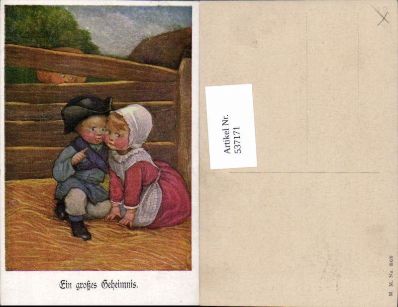 537171,tolle Künstler AK Susan Beatrice Pearse Großes Geheimnis Kinder