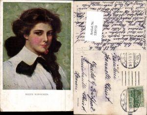 539000,Künstler AK Clarence F. Underwood Reife Kirschen Erotik Frau pub Munk Vienne