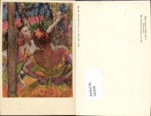 541830,Künstler AK Edgar Degas Erotik Jugendstil Art Nouveau pub Max Jaffee 134